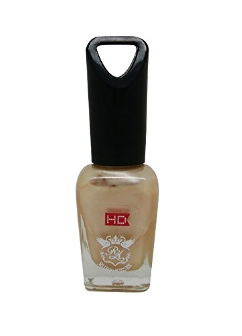 除去アルバニー無条件RUBY KISSES mini HD ネイル ポリッシュ MNP315J Pearl Peach 8ml