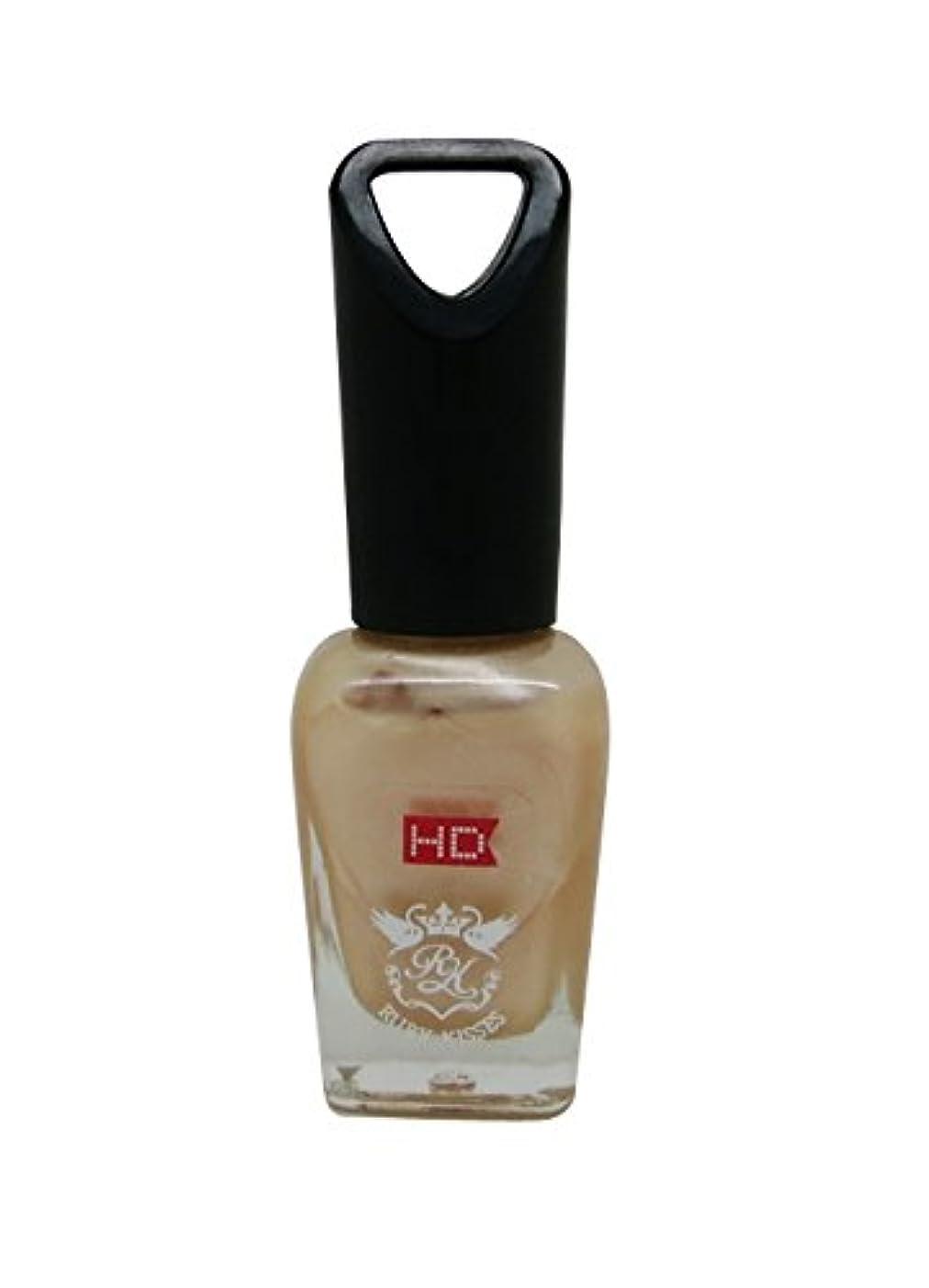 筋肉のスティック知的RUBY KISSES mini HD ネイル ポリッシュ MNP315J Pearl Peach 8ml
