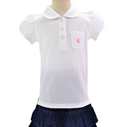 ポロシャツ・女 半袖 日本製 (女の子) 140cmサイズ ...