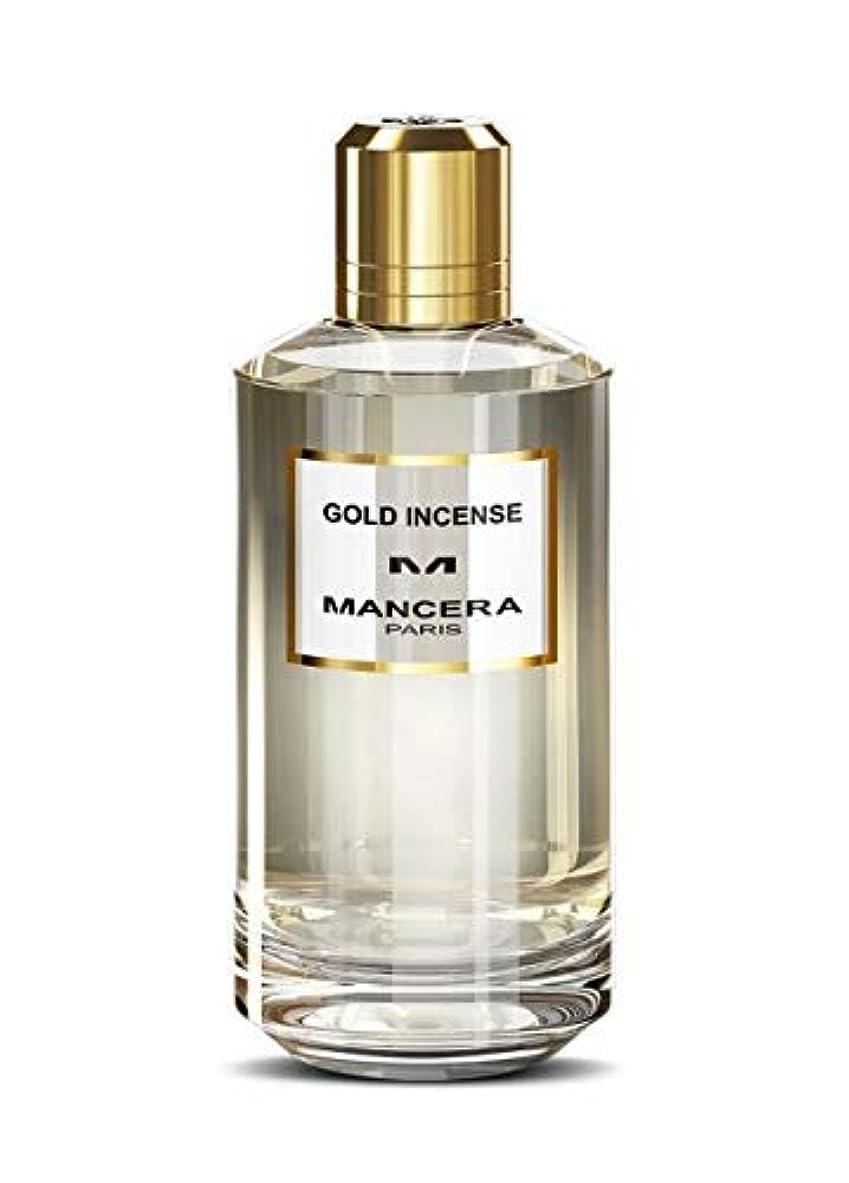 ニックネームパン廃棄するMancera Gold Incense Eau de Parfum 4.0 oz./120 ml New in Box