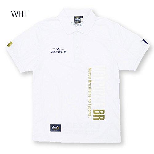 DALPONTE(ダウポンチ) ポリエステルポロシャツ ホワイト L DPZ0207-WHT ホワイト L