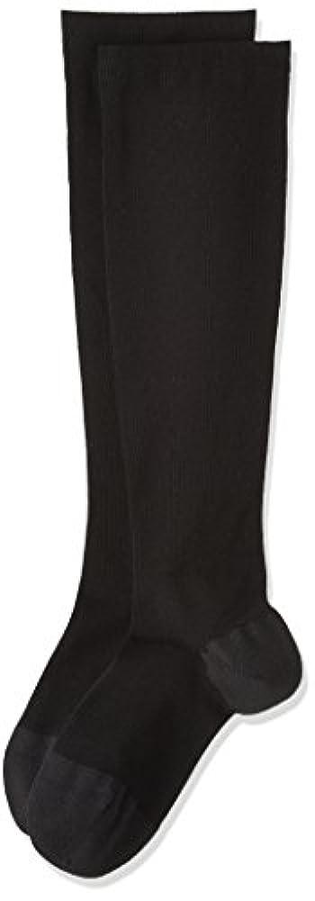 基本的なマントル結晶[オカモト] 靴下サプリ 1足組 デオドラントうずまいて血行を促すソックス O792-991 レディース