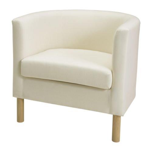 IKEA(イケア) SOLSTA OLARP アームチェア, ランスタ ナチュラル (80160725)