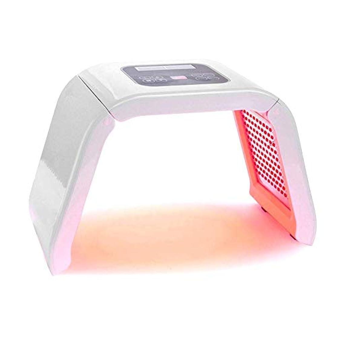 サークルぶら下がる資格美容機器は、7色はライト肌の若返り機器、マスクリムーバーアンチリンクルアンチエイジングを締めフェイスネックボディ-SalonスパマシンのスキンアンチエイジングスキンケアツールをLED