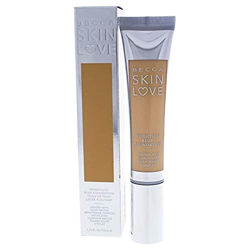 広いフレア逆説ベッカ Skin Love Weightless Blur Foundation - # Sand 35ml/1.23oz並行輸入品