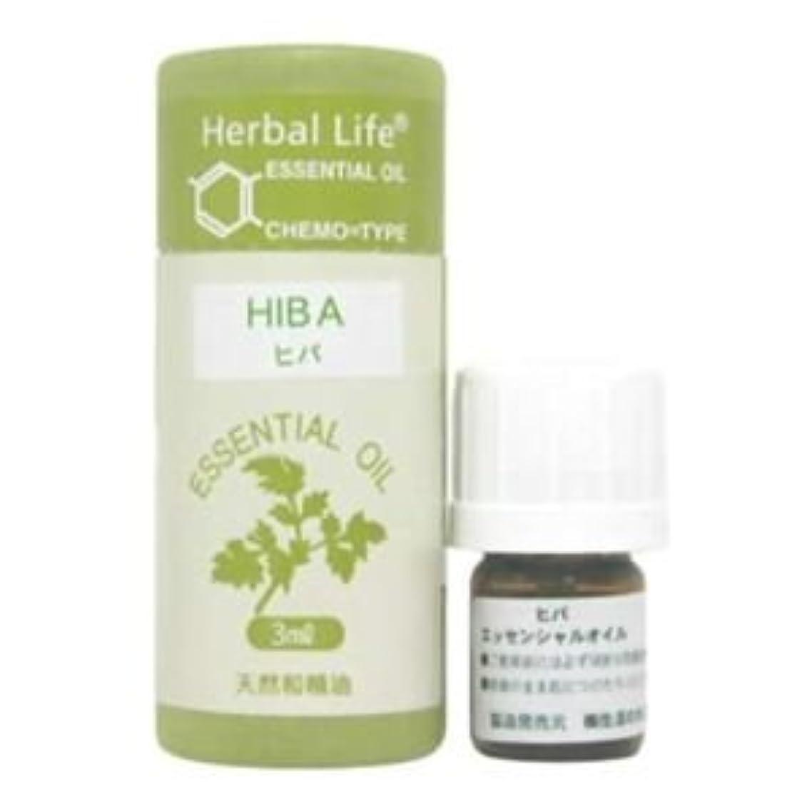 グローブスプリットダッシュ生活の木 Herbal Life ヒバ 3ml 3セット