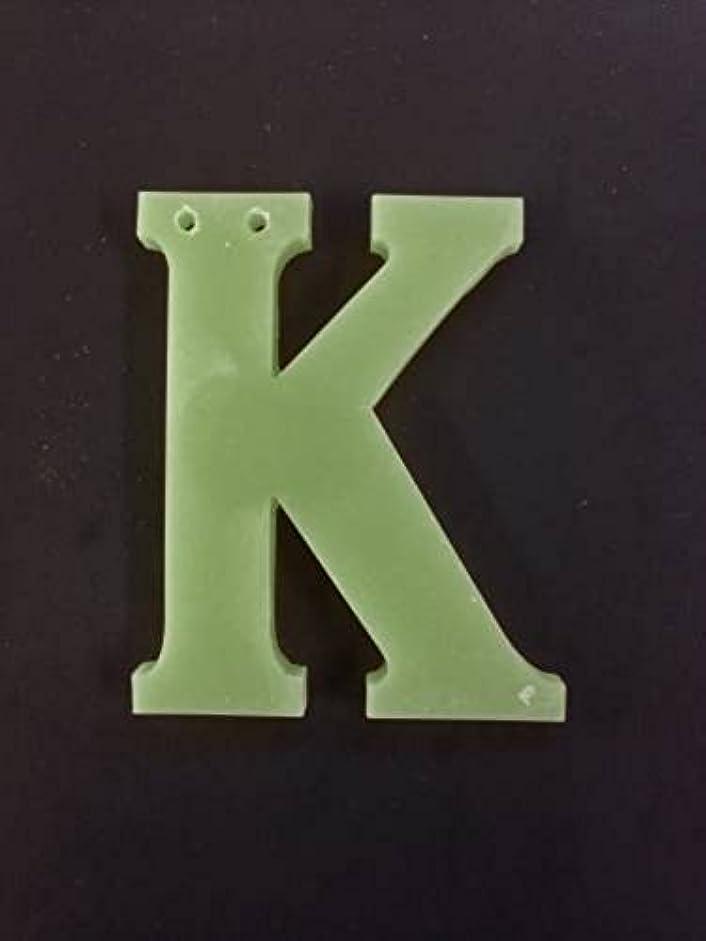 痴漢もつれ警告するGRASSE TOKYO AROMATICWAXチャーム「K」(GR) レモングラス アロマティックワックス グラーストウキョウ
