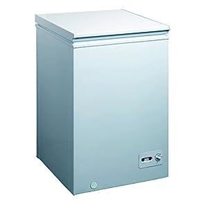 DAEWOO 99L チェスト式冷凍庫(直冷式)ホワイト DF-C10AW DF-C10AW