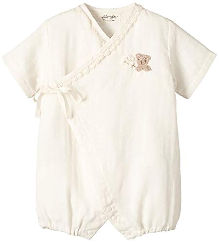 Amorosa mamma 天使の糸&妖精の森 手編みモチーフのガーゼグレコ(クマ&クローバー)