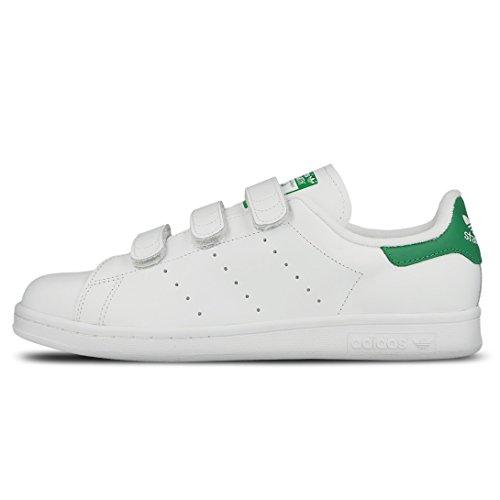 日本国内正規品 アディダス adidas スタンスミス STAN SMITH コンフォート CF ベルクロ ホワイト×グリーン S75187