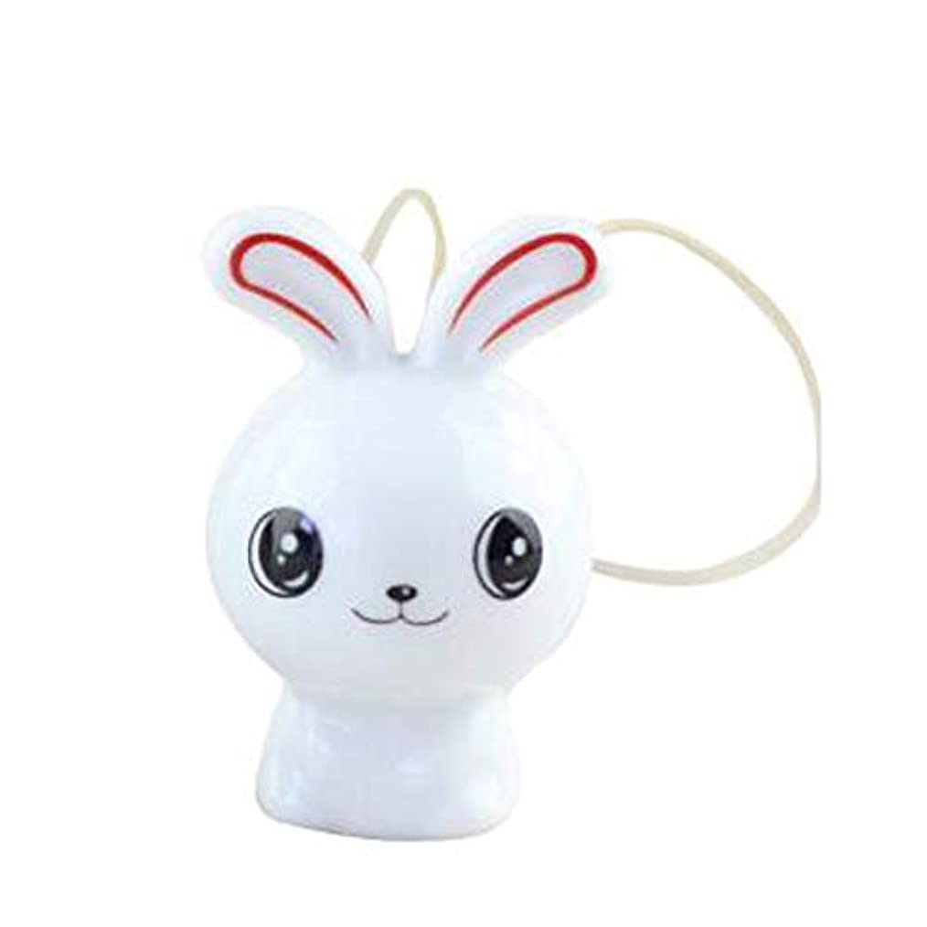 援助マイナス熟達Hongyuantongxun 風チャイム、クリエイティブ?セラミックウサギ風チャイム、白、6CMについて全身,、装飾品ペンダント (Color : Red)