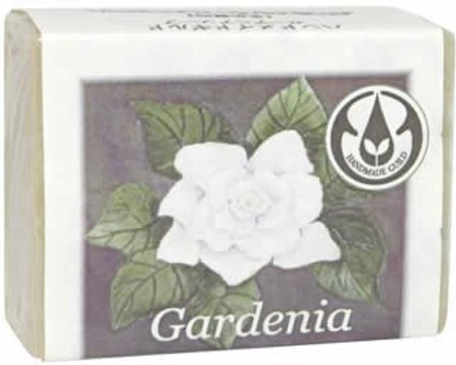 ビタミン悪化させる望むジョン&ダイアナのハンドメイドソープ ガーデニア 標準重量90g