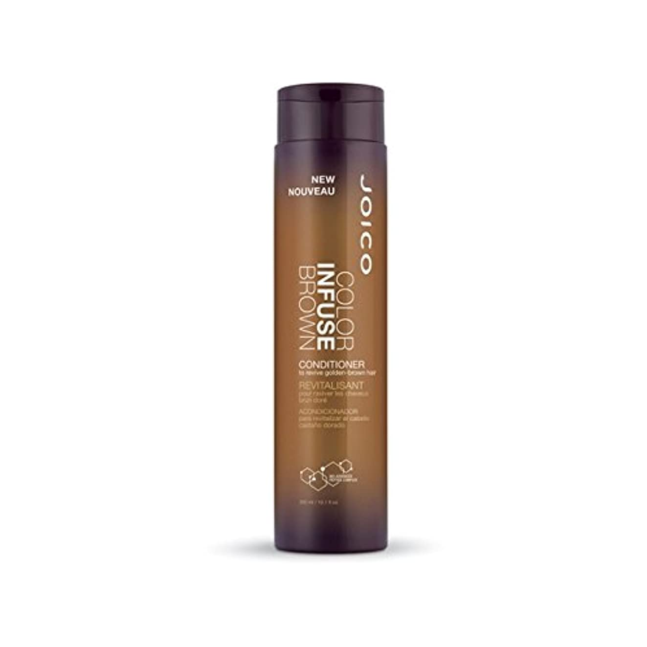 Joico Color Infuse Brown Conditioner 300ml (Pack of 6) - ジョイコ色は茶色コンディショナー300ミリリットルを注入します x6 [並行輸入品]