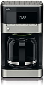 Braun KF7120 Filter Drip Coffee Maker, 12 cup, Black