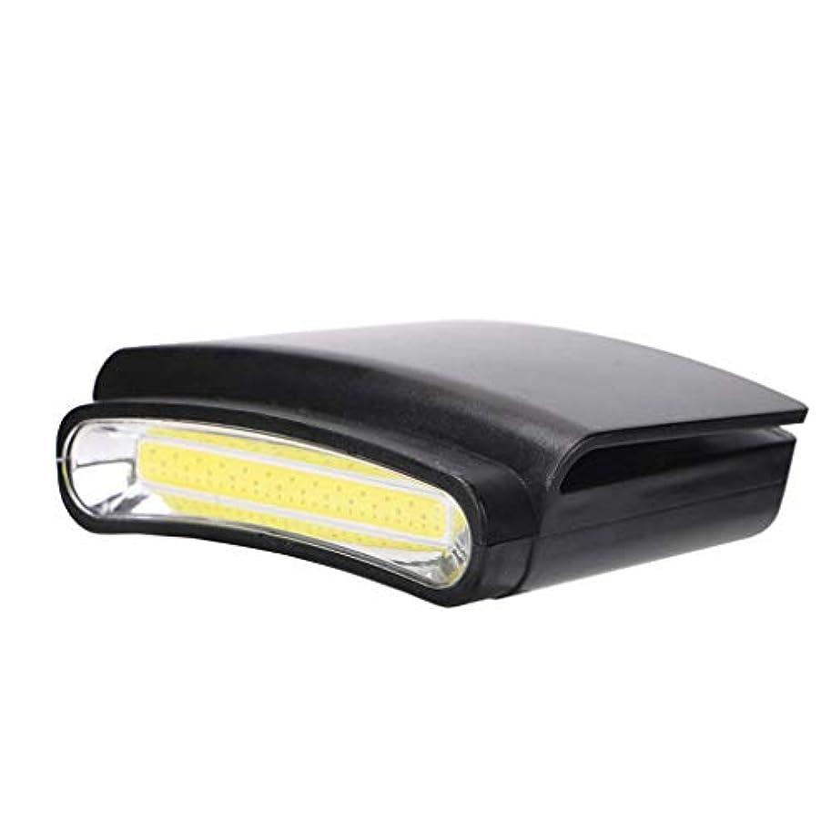 きらめき利益希少性懐中電灯 キャップライト ヘッドライト キャンプ 釣り ハイキング用