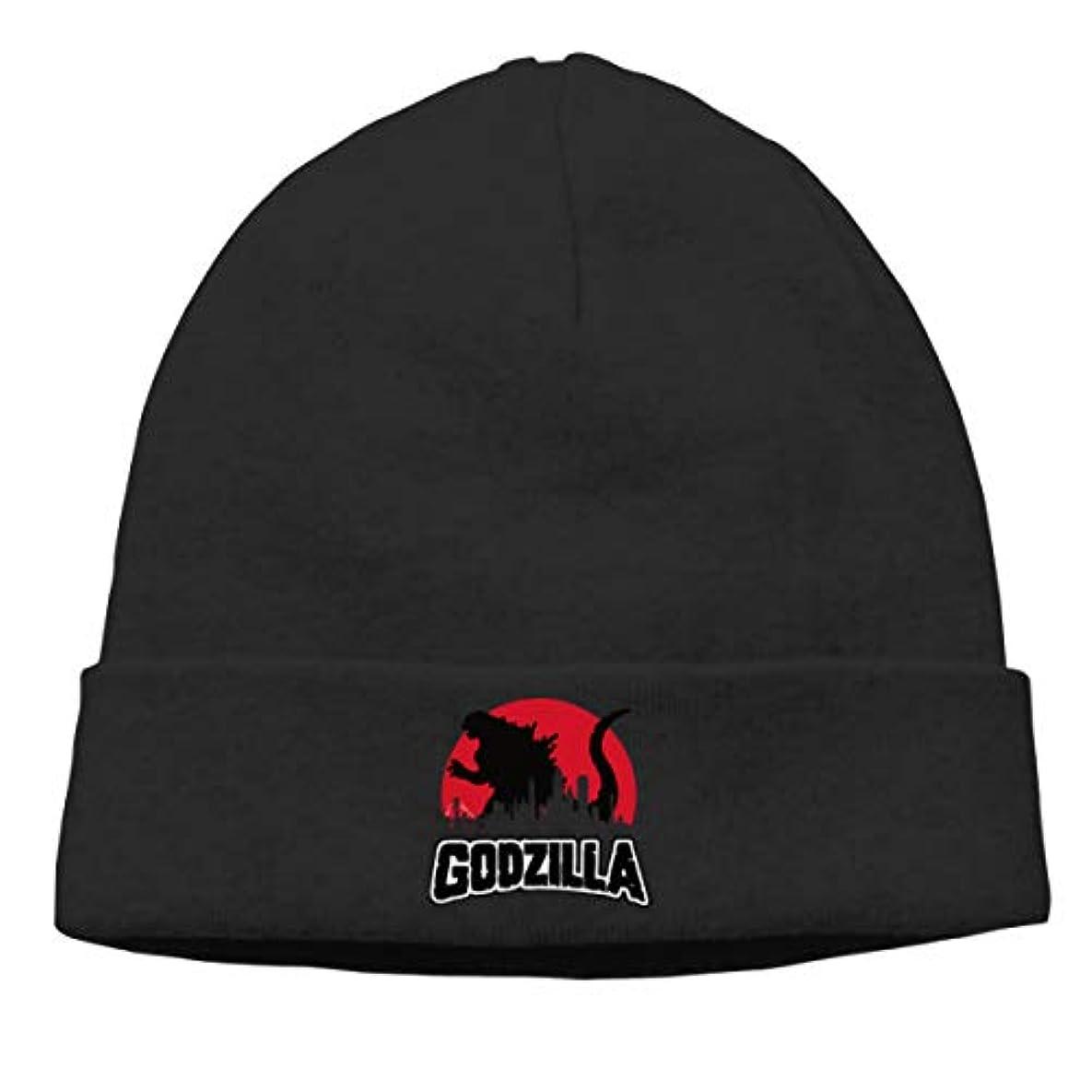 地中海流体私達ゴジラ Godzilla 未知の生き物 チ性抜群 通気性抜群 柔らかい 防風 無地 優れた弾力性 フェードしません 男性用と女性用のキャップ