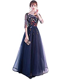 90b2e0864327c パーティードレス ドレス ロングドレス 忘年会 二次会 イブニングドレス 演奏会 Long dress ドレス 編み上げドレス