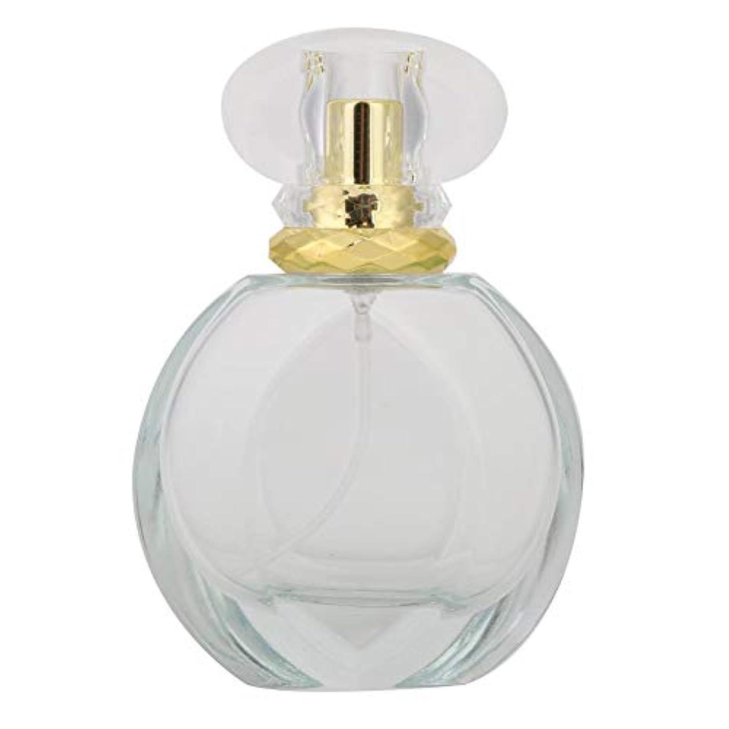 スリット待って傷跡50ミリリットルガラス詰め替え空の香水スプレーボトル液体香水アトマイザーディスペンサーボトル(03)