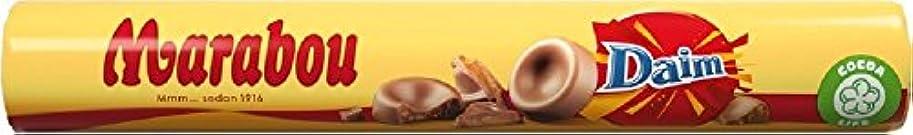 興奮バーくちばしMarabou Daim マラボウ ダイム 塩キャラメル 丸型 チョコレート 67g ×2本 (134g) スゥエーデンのチョコレートです [海外直送品] [並行輸入品]
