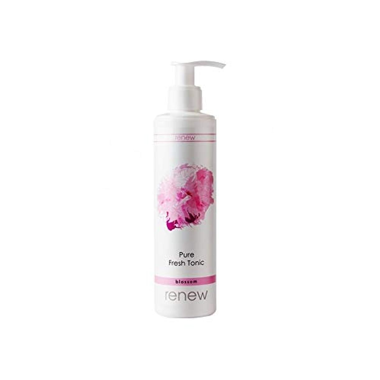 バイパス増幅器スクリューRenew Blossom Pure Fresh Tonic 250ml