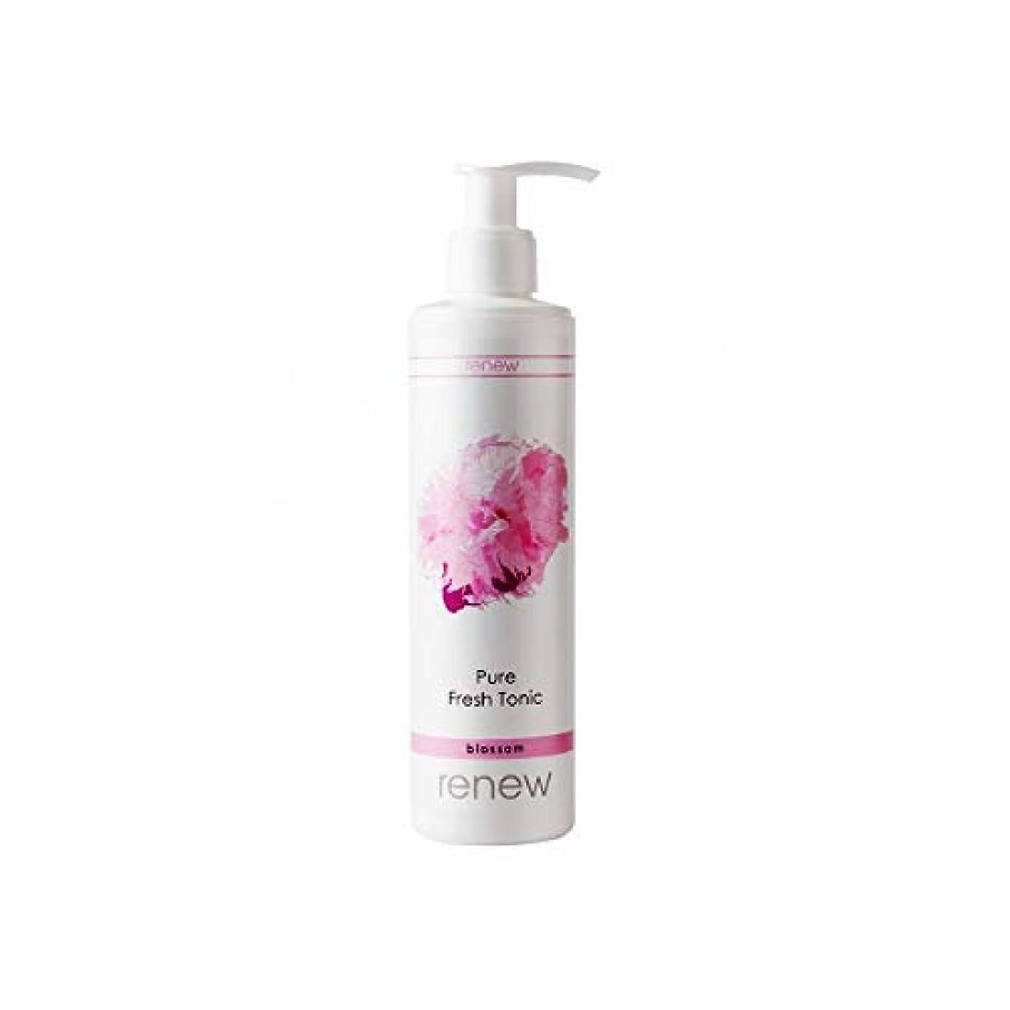 めまい類人猿活性化するRenew Blossom Pure Fresh Tonic 250ml