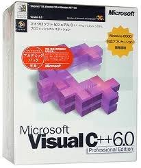 Microsoft Visual C++ 6.0 Professional Edition アカデミックパック