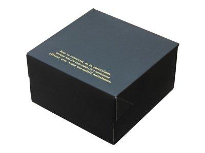 ガトーショコラBOX ブラック(金台紙付) (10枚)