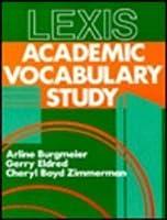 Lexis: Academic Vocabulary Study