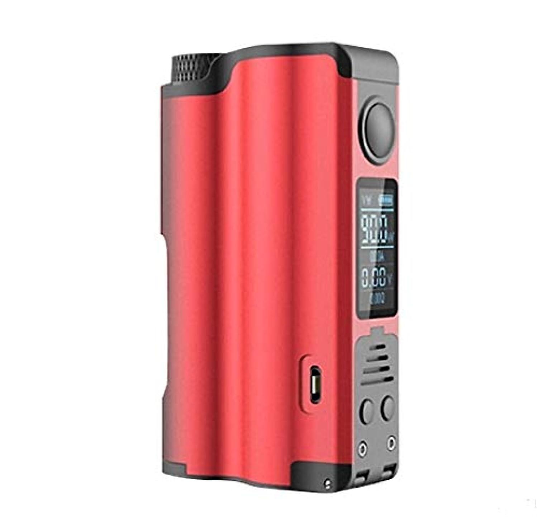 ブルゴーニュ仕方赤ちゃん正規品 DOVPO 90W SQUONK BOX MOD 電子タバコ あいこす本体セット ハイエンドVape 電子タバコ (赤)