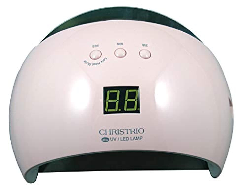 不調和言い直す維持するCHRISTRIO 48W Pearl LED/UVランプ ピンク