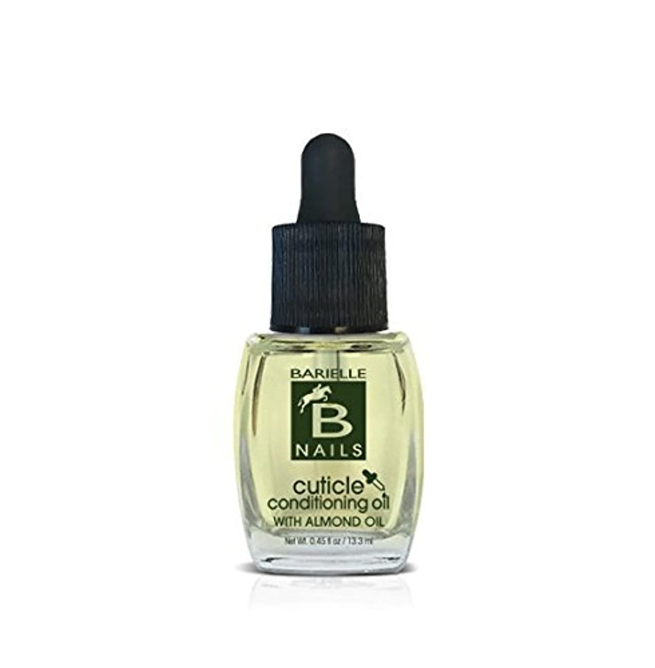 卵あいにく癒すBarielle Nails - Cuticle Conditioning Oil with Almond Oil w/ Dropper - 13.3 mL / 0.45 oz
