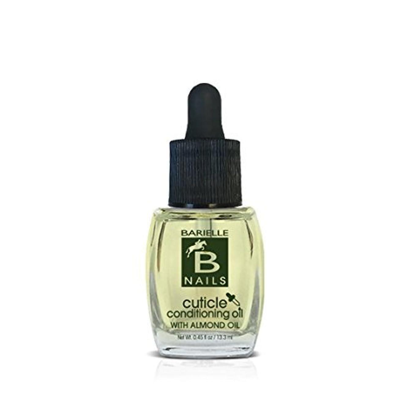 テメリティシプリー空白Barielle Nails - Cuticle Conditioning Oil with Almond Oil w/ Dropper - 13.3 mL / 0.45 oz