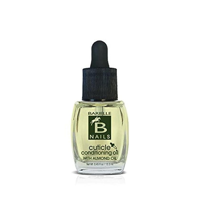民主主義の間で痛みBarielle Nails - Cuticle Conditioning Oil with Almond Oil w/ Dropper - 13.3 mL / 0.45 oz