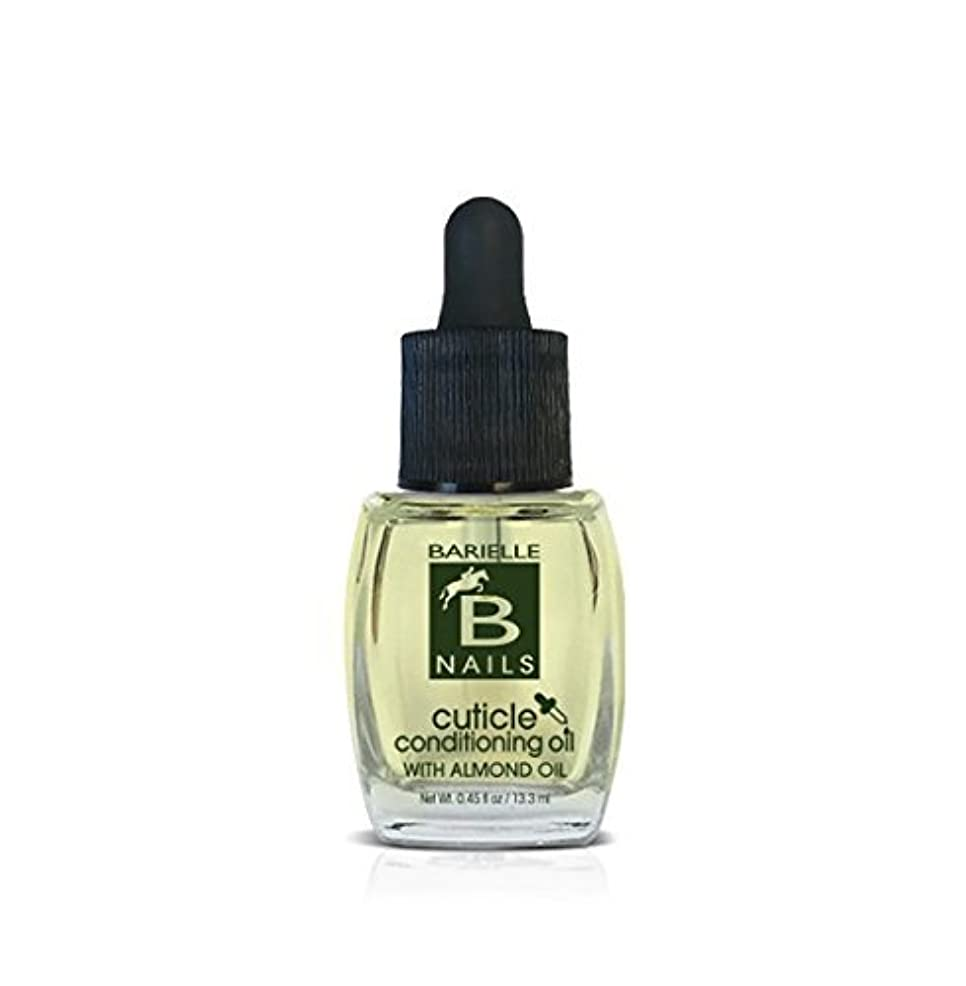 Barielle Nails - Cuticle Conditioning Oil with Almond Oil w/ Dropper - 13.3 mL / 0.45 oz