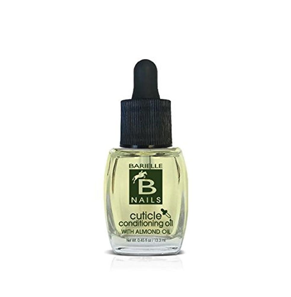 嫉妬話をする高尚なBarielle Nails - Cuticle Conditioning Oil with Almond Oil w/ Dropper - 13.3 mL / 0.45 oz