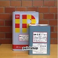 インターナショナルペイント 簡易防水塗料 ライトプルーフ(防滑の骨入り) 24kgセット グリーン