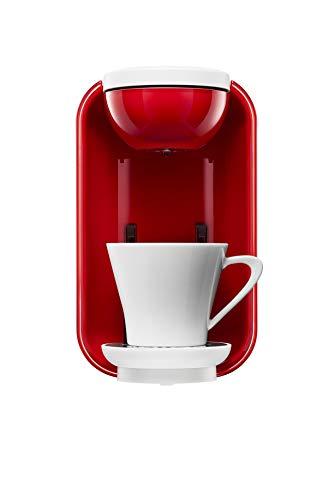 UCC コーヒーメーカー [ドリップポッド] 本格 ドリップコーヒー カプセル式 (ホワイト×レッド) DP2A