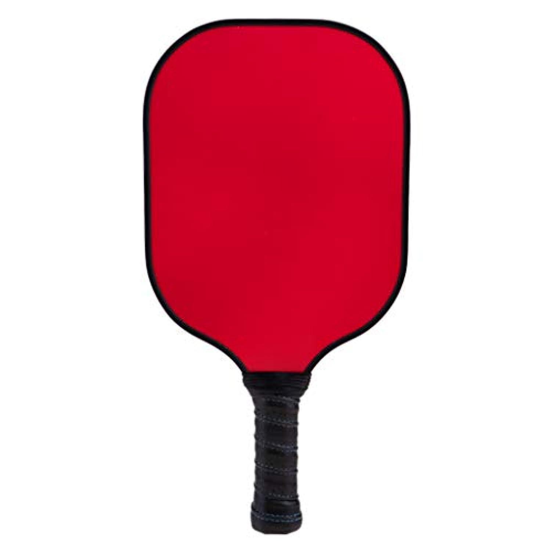 Fenteer 炭素繊維 ハニカム 複合 コア ピックリングボールパドルラケット  ユニセックス 全10選択し