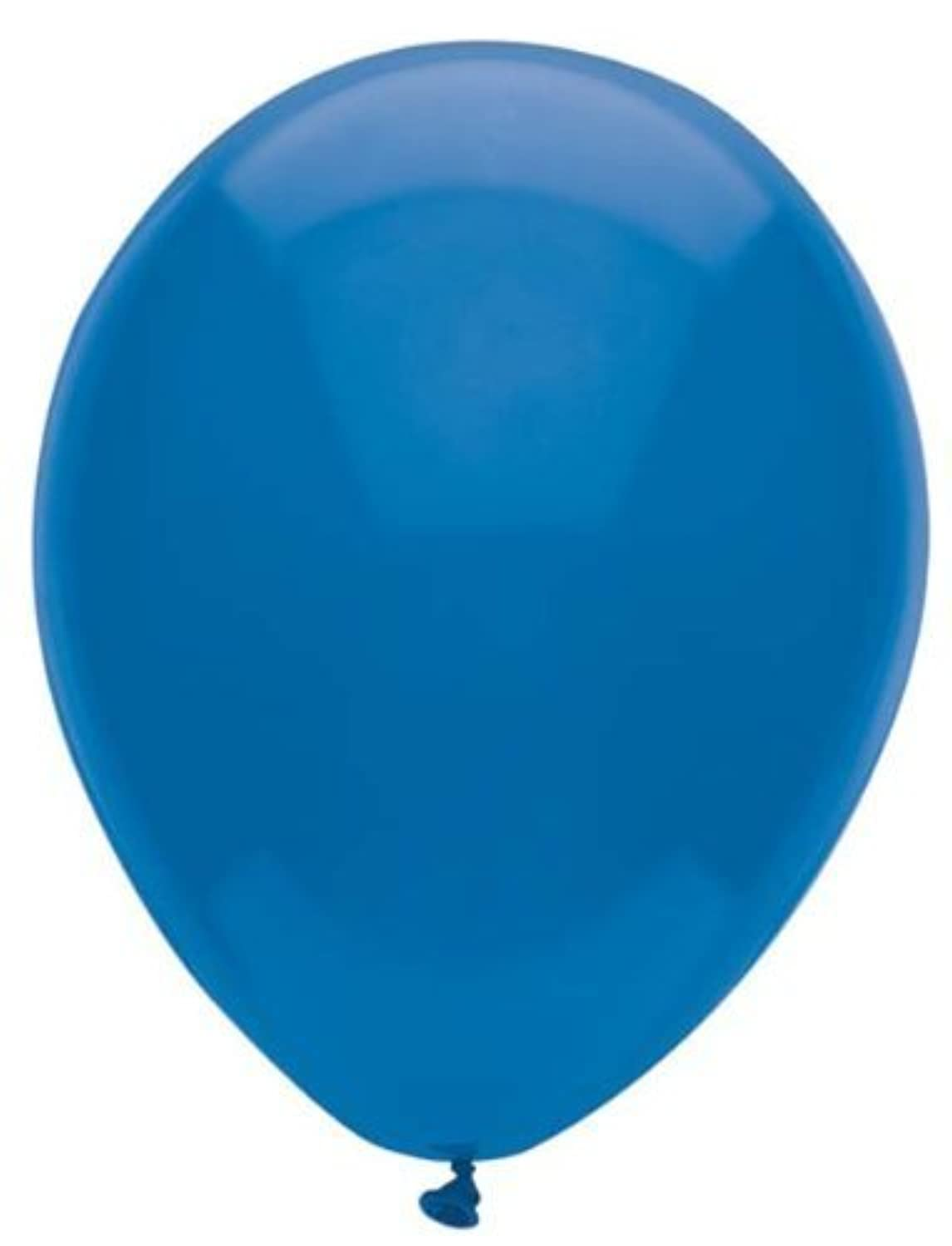 12 Inch Midnight Blue Latex Balloons 72CT by PartyMate [並行輸入品]
