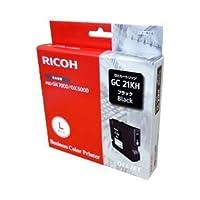 【純正品】 リコー(RICOH) インクカートリッジ ブラック 型番:GC21KH 単位:1個 ds-1096990