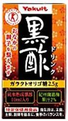 ヤクルト 黒酢ドリンク【特定保健用食品 特保】 125ml紙パック×36本入