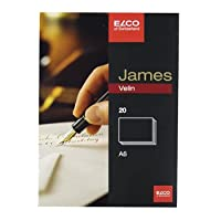 ELCO JamesVelin カード 20枚入 A6 (71316-10)