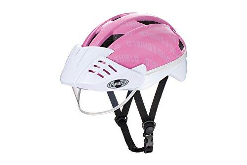 アイデス アイシールドヘルメットS ピンク