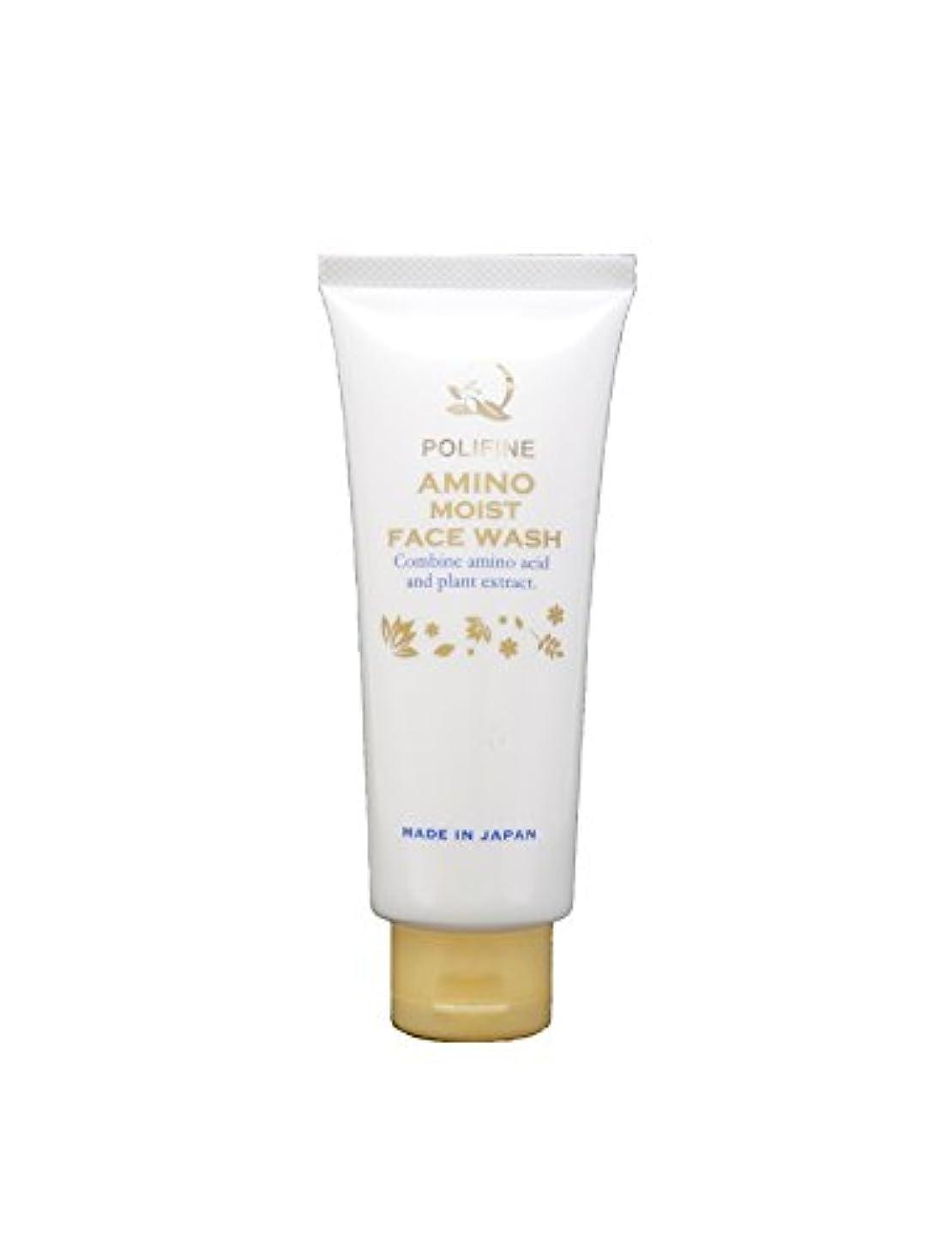 気性固執水分ポリファイン アミノ酸洗顔 濃密泡&素肌しっとり  POLIFINE AMINO MOIST FACE WASH