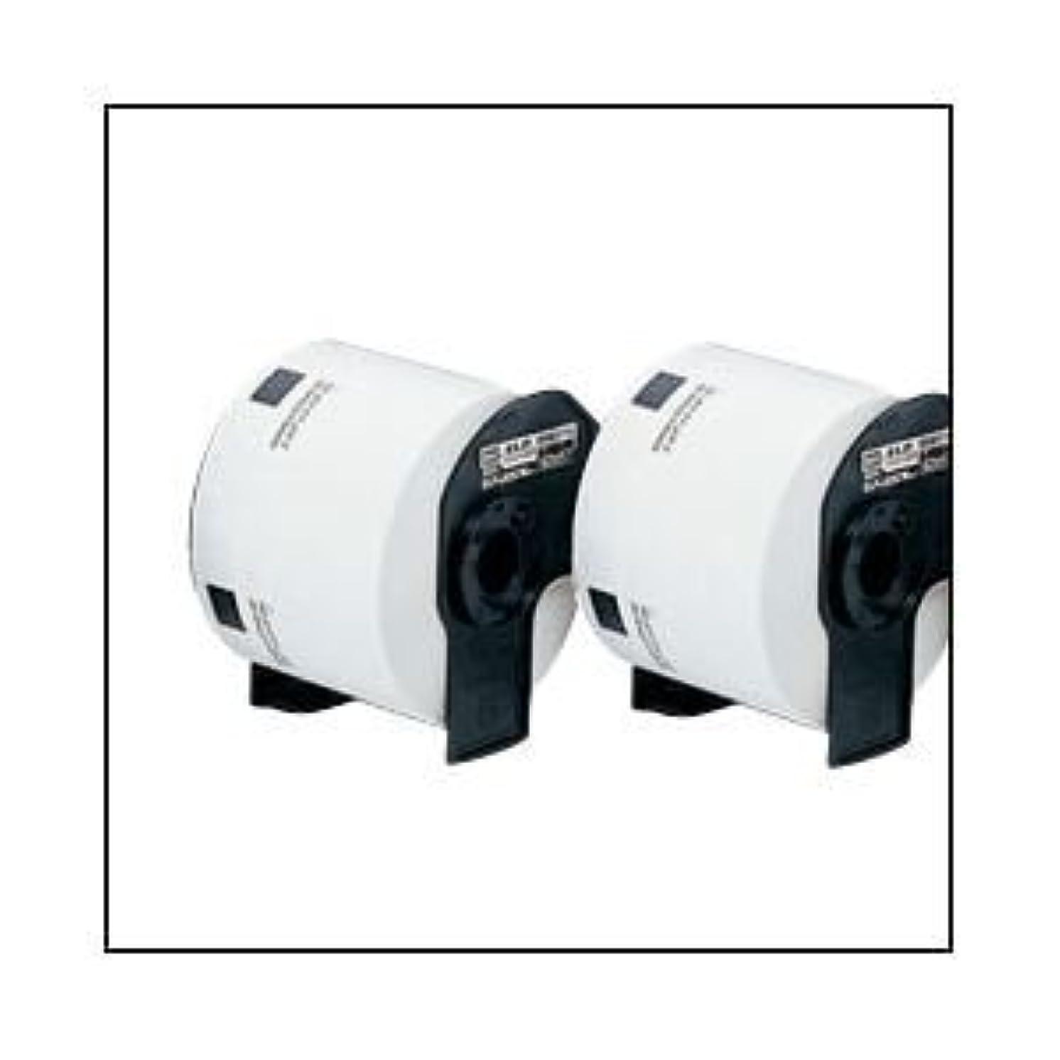 ピカリング提供汚染するマックス 感熱ラベルプリンタ ELP-60S 専用ラベル 幅62×57mm ds-1096811