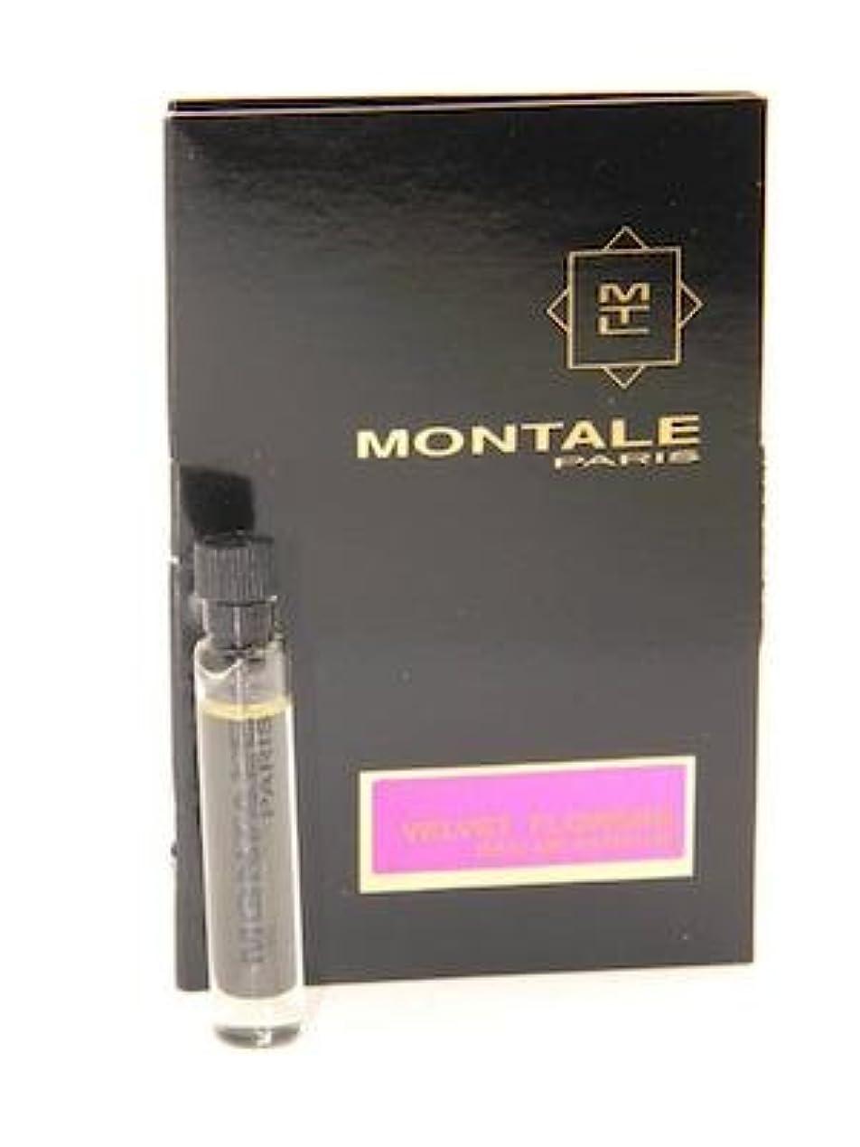 蒸夢怪物Montale Velvet Flowers EDP Vial Sample 2ml(モンタル ベルベット フラワーズ オードパルファン 2ml)[海外直送品] [並行輸入品]