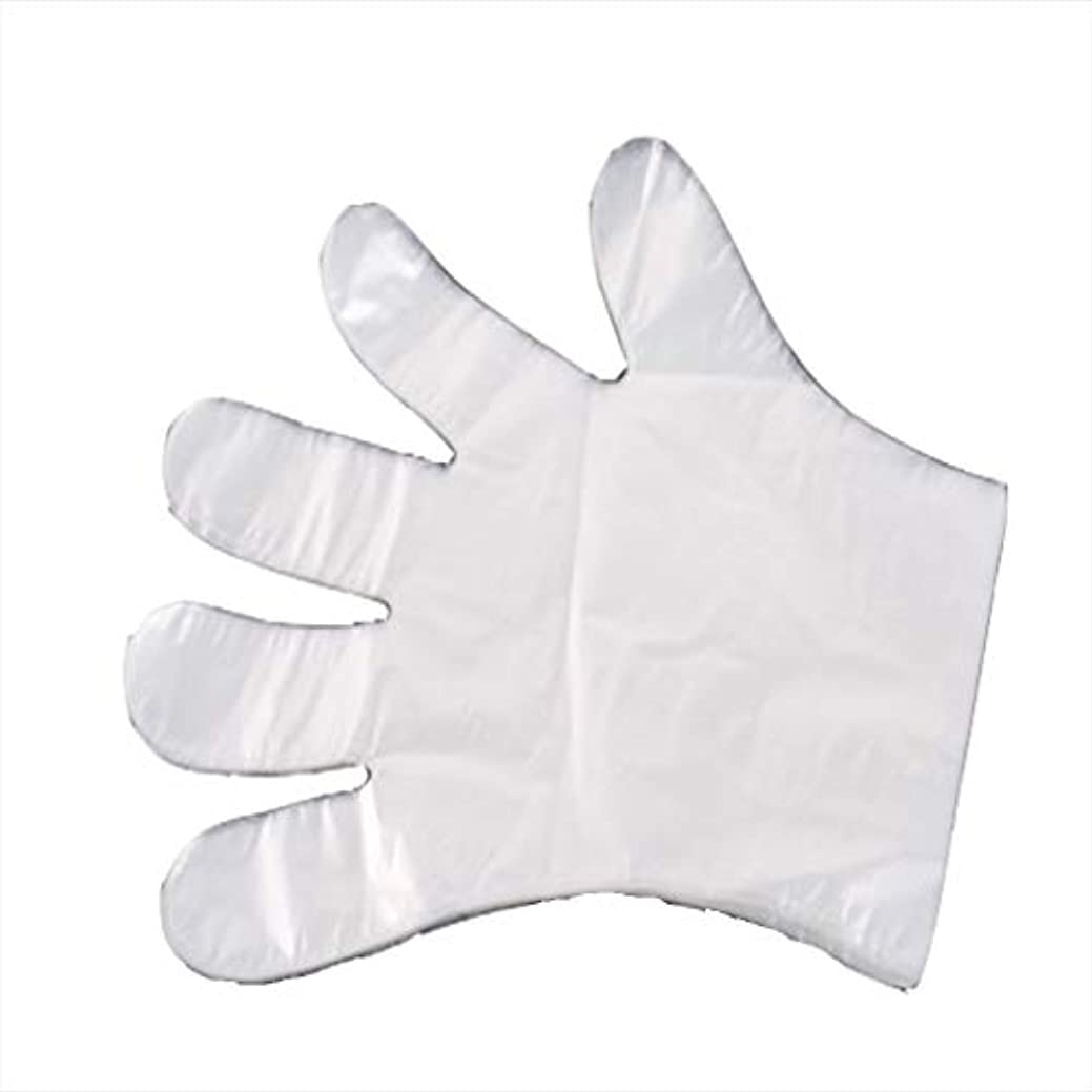 非行差し控える眠っている手袋、使い捨て手袋、食事、ヘアケア、肥厚、透明フィルム手袋、肥厚1000。