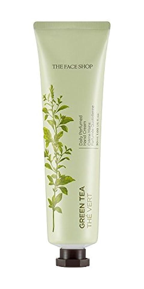 調整ローマ人わざわざTHE FACE SHOP Daily Perfume Hand Cream [05. Green tea] ザフェイスショップ デイリーパフュームハンドクリーム [05.グリーンティー] [new] [並行輸入品]