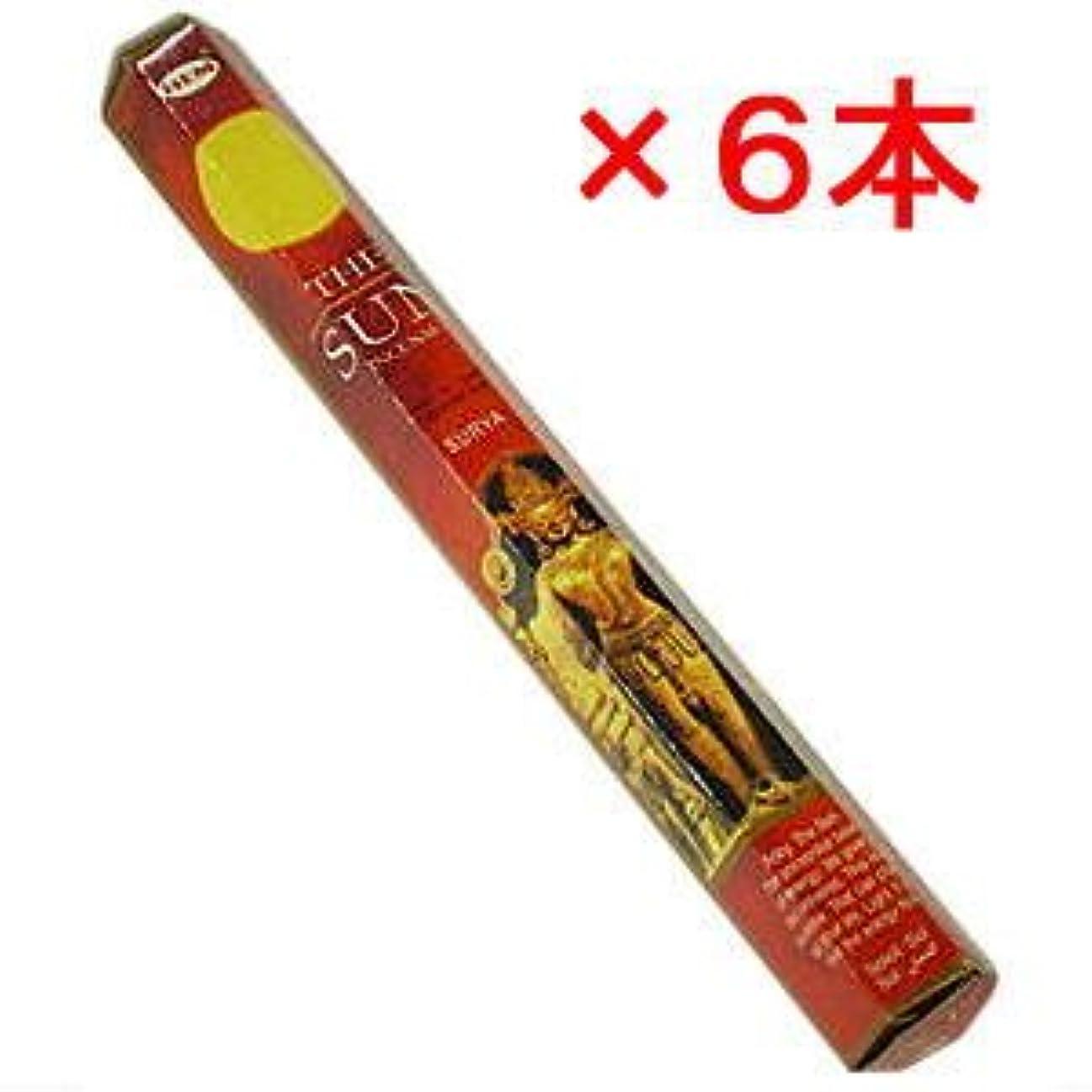 適用済みチョコレートお手伝いさん『HEM サン香 6角 1ケース(6本)』