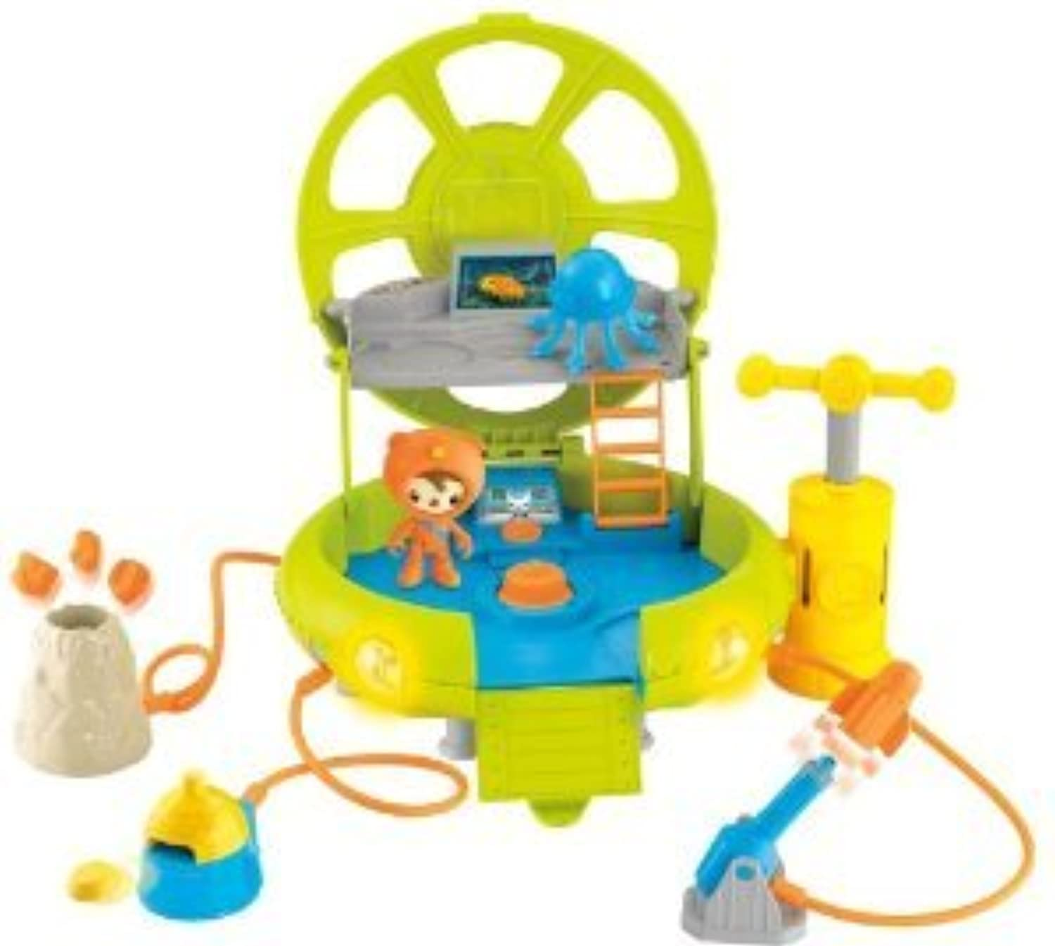 Octonauts Deep Sea Octo-Lab Playset(並行輸入)